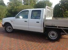 2003 Ford Courier Dualcab Trayback AUTOMATIC Ute Stoneville Mundaring Area Preview