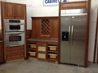 Kitchen with granite tops at the Waterloo Restore