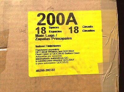 Square D Circuit Breaker Load Center 200a