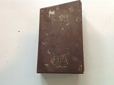 Vintage Huot Drill Index Box With 17 Bits