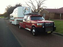 Ford F450 & 5th wheeler combination Hinton Port Stephens Area Preview