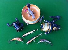 Buying Vintage fishing lures reels tackle Flagstaff Hill Morphett Vale Area Preview