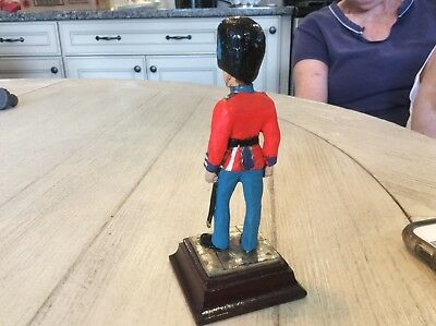 Scots Guard metal soldier-  unknown maker