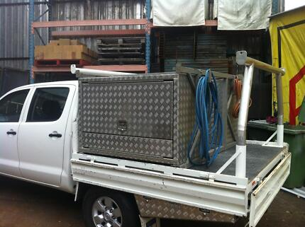 """2009 Toyota Hilux Ute """"TOOLBOX"""" Ashmore Gold Coast City Preview"""