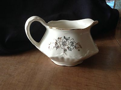 Vintage Homer Laughlin Virginia Rose Creamer Pitcher F46N8 Rare