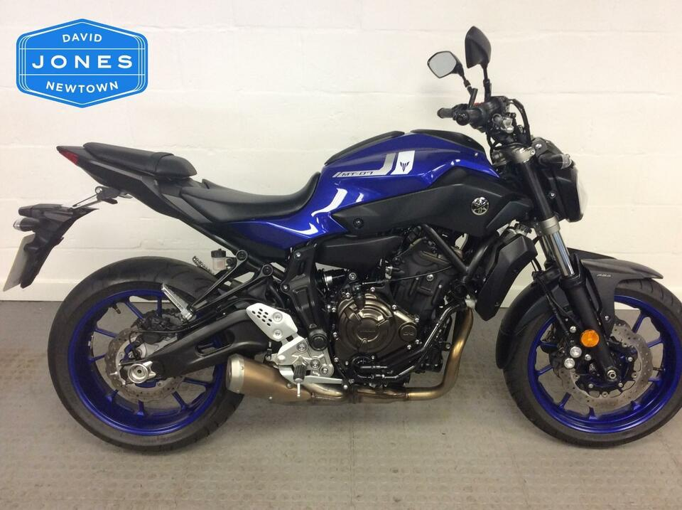 Yamaha MT07 MT 07 ABS Naked  - 2017 / 17 Blue