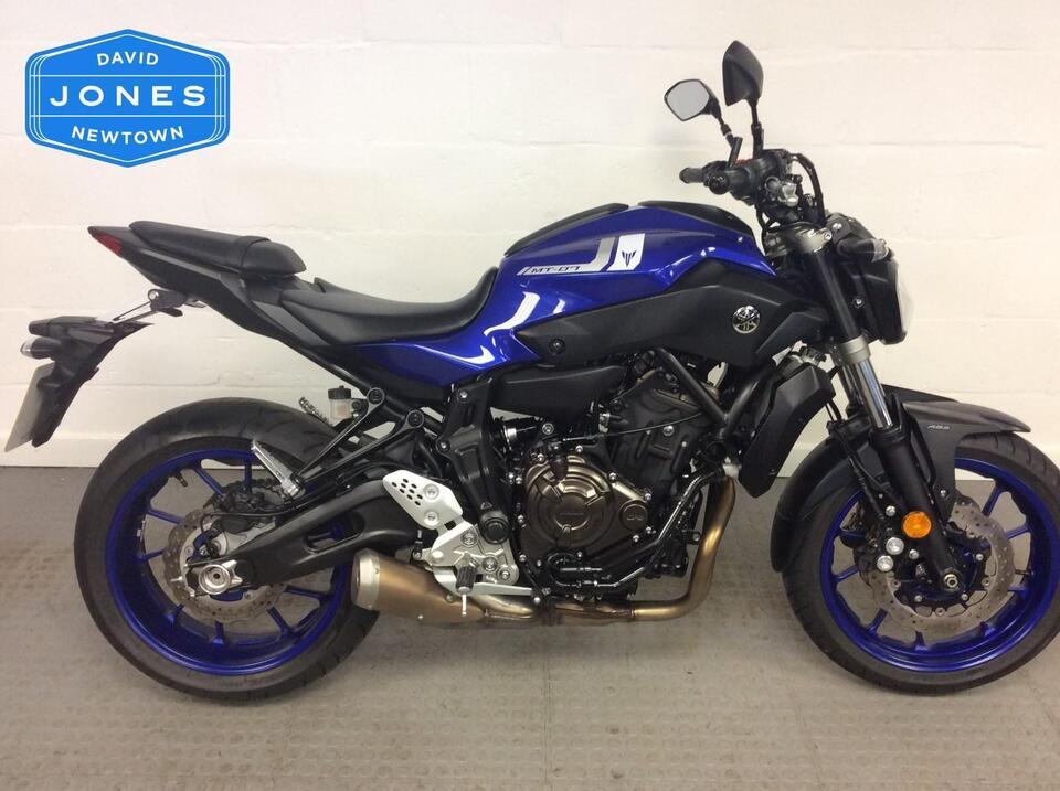 Yamaha MT07 MT 07 ABS Naked  - 2017 / 17 Blue