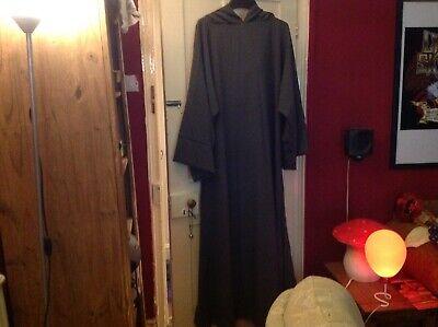 Fancy Dress - Grey Hooded Wizard, Gandaplh Tunic - Hooded Herren Kostüme