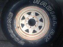 Tyres 4x4 31/10.50 r15 Beldon Joondalup Area Preview