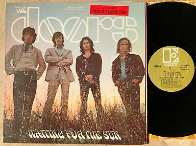 THE DOORS~WAITING FOR THE SUN~'68 ELEKTRA~GOLD LBL~UNIPAK~FIRST PRESS~RARE