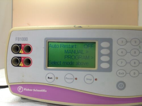 FISHER SCIENTIFIC Electrophoresis Systems / FB1000 / Power on