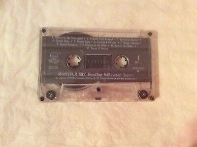 Halloween Party Music 1997 Cassette Tape Monster Mix Nonstop Terror - Halloween Party Music Mix