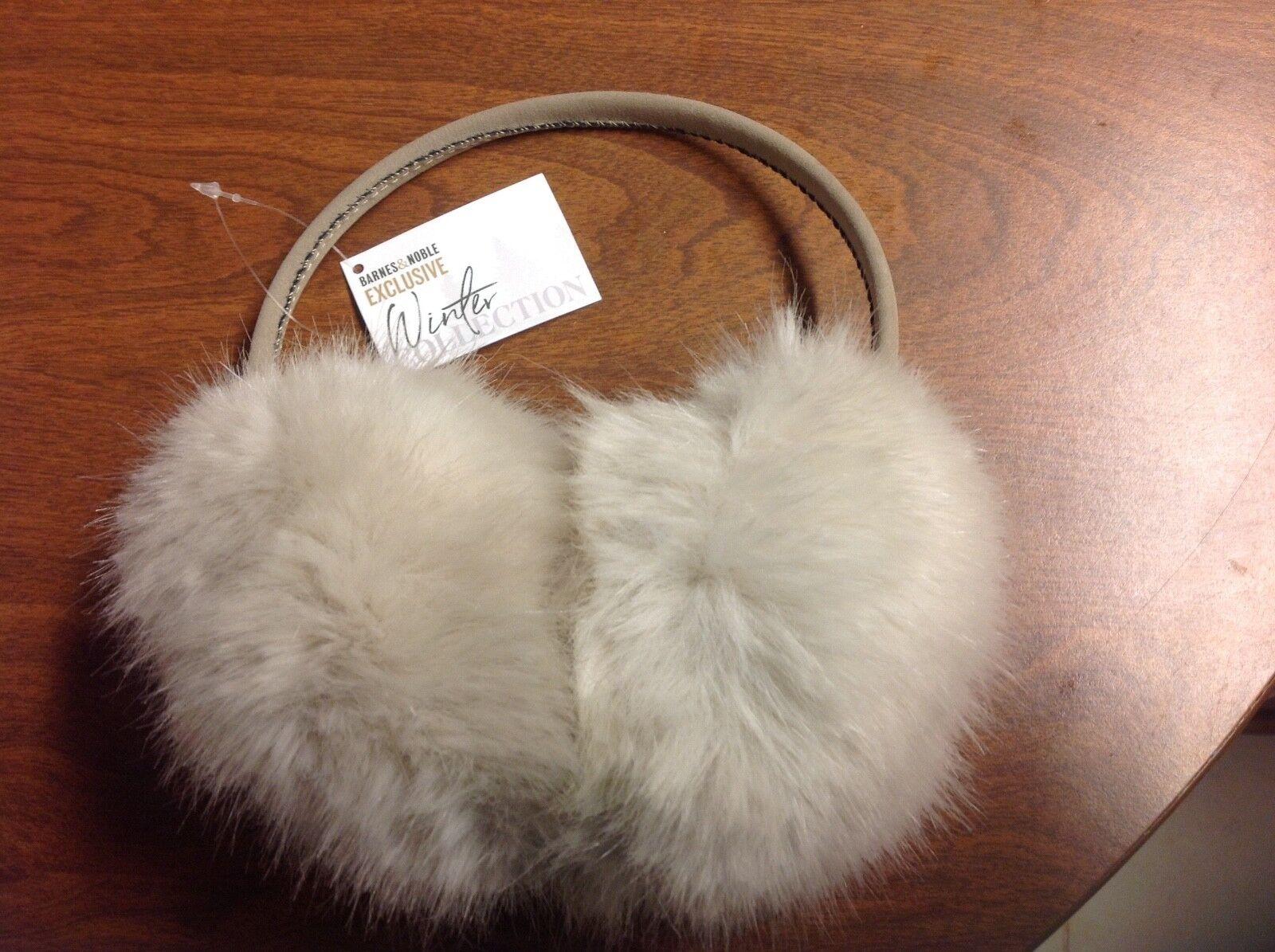Faux Fur Earmuff Barnes & Noble Exclusive Winter Collection