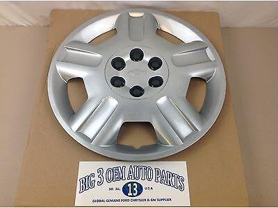 2006-2009 Chevrolet Uplander Silver Painted Steel Wheel CENTER HUB CAP new OEM