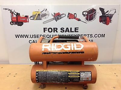 Ridgid Of45175a 4.5 Gal Air Compressor Electric Small Portable Industrial Used