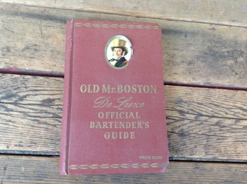 Old Mr Boston Deluxe Official Bartender