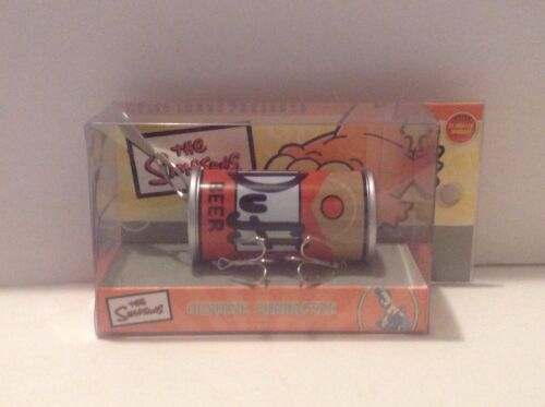The Simpsons Duff Beer Relic Fishing Lure New Rare