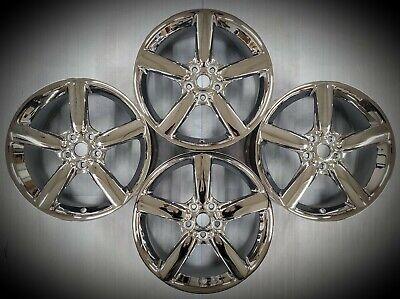 "18"" Pontiac Solstice Saturn Sky Factory OEM Chrome Wheels Rims 2006 - 2010 SET"