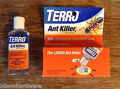 Liquid Terro Ant Killer II Indoor Bait Borax Common Household Small Sweet -