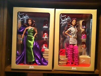 Christian Louboutin Barbie Dolls  ANEMONE & DOLLY Forever Gold Label  Collector