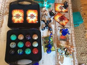 Bakugan Set with three cases 23 balls 14 cards Collaroy Manly Area Preview