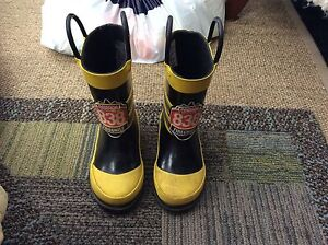 Firefighter boots size 6.  $5