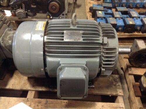 GE General Electric 5KE254KC205C 15 HP 1760 RPM 230/460 VAC AC Motor 254TCY