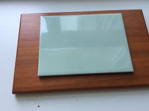 Pistachio green tile
