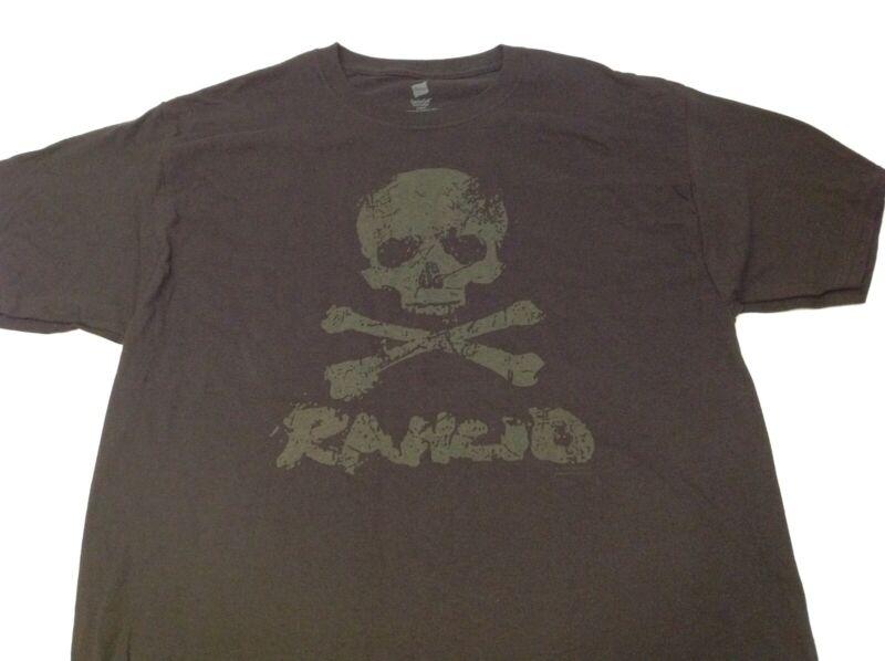 Rancid Punk Rock Skull & Crossbones Machete Shirt 2005 NEW Out of Print Design