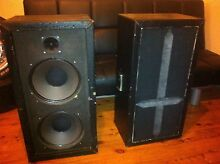 Pair of PA/Guitar/Amplifier speakers Mayfield West Newcastle Area Preview