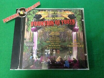 Beltway 8 Fountain Of Youth Gangsta Rap Hip Hop USED CD Piranha Records