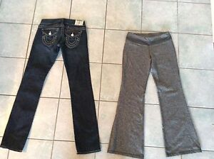 True religion jeans, one tooth pants
