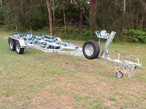 Bonanza Boat Trailer 21-23Ft  Heavy Duty Tandem Axle 2000KG Capacity
