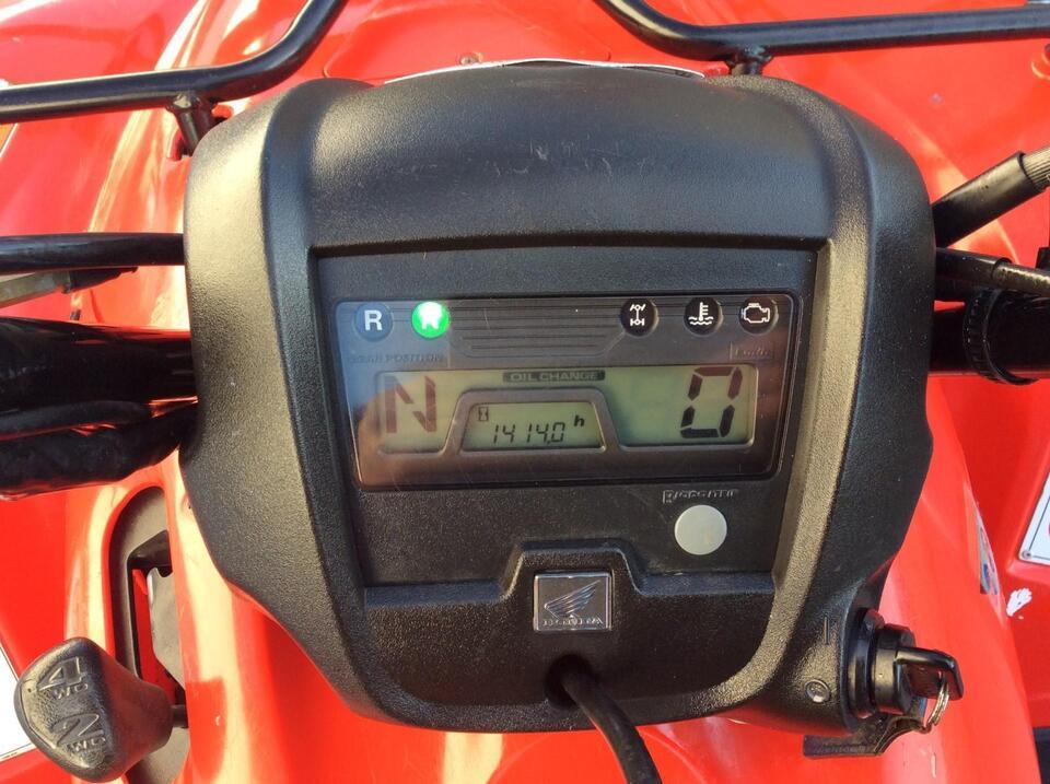 2011 HONDA TRX420 FM MANUAL FOURTRAX 4x4 QUAD ATV FOUR WHEELER