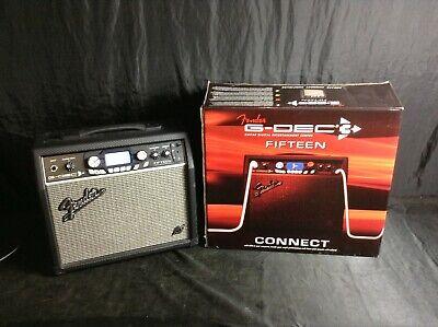 Fender G-DEC 3 Fifteen Guitar 1x8 Combo Amp - Great cond.