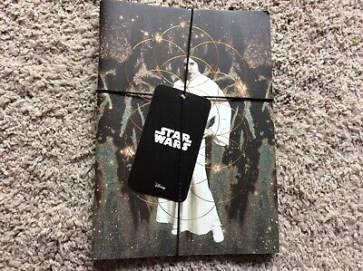 BNWT New Set of 2 Paladone Star Wars Notebooks - Darth Vader Leia - 21x15cm