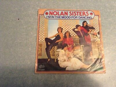 Disque vinyle 45 tours /nolan sisters,im in the mood for dancing
