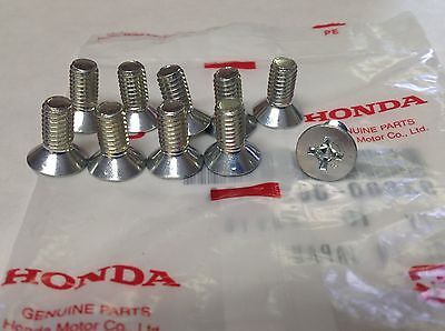 Genuine HONDA  ACURA Disc Brake Rotor Screw 10 Pack Fits YEARS 1986 to 2014