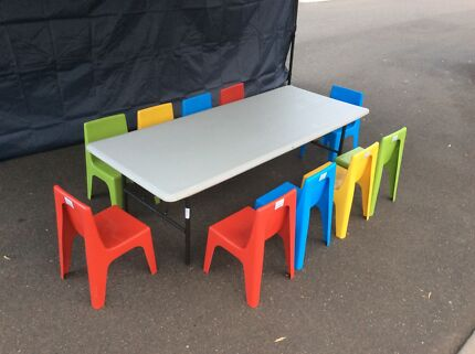 Tables and chairs, helium, food warmer, kids chairs & tables, marquee Kellyville Ridge Blacktown Area Preview