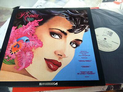 "Kenia - Initial Thrill (1987) LP (VG) 12"" VG+ Zebra Records Label  for sale  Spokane"