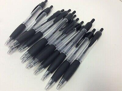 Staples Retractable Ballpoint Pens Fine Point 0.7mm Black Ink Dozen 50786