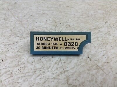 Honeywell St7800 A 1146 0320 30 Minute Plug In Purge Timer St7800a1146