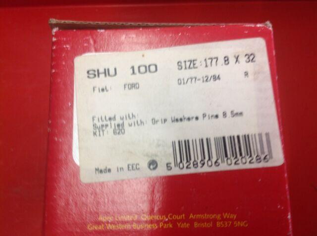 APEC REAR BRAKE SHOES TO SUIT FORD FIESTA 80-83 VAN78-83 SHU100 SEE LISTING