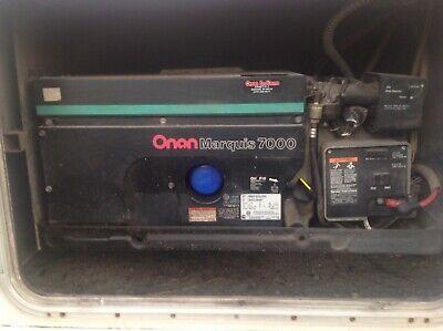 Onan Marquis 7000 Watt Generator Class A Rv Motorhome Generator 120v