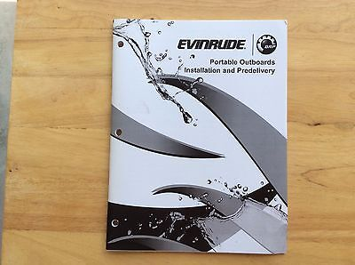 2012 BRP  Evinrude Installation & Delivery Manual, Part # 5008855