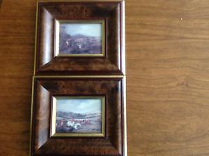 2 Decorative Wall Frames -Bombay Company