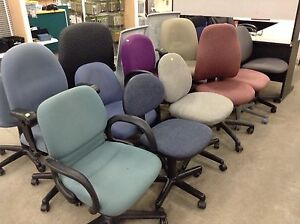 Office & miscellaneous chairs at Waterloo restore