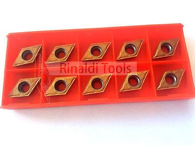 10 x Wendeplatten DCMT 11T302-VA P25/M25 für Stahl + Edelstahl / Mit Rechnung!!