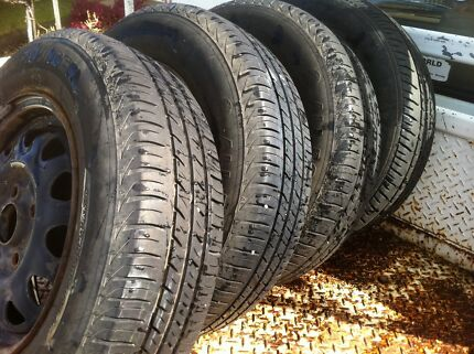 Wheels & tyres ford laser Ashmont Wagga Wagga City Preview