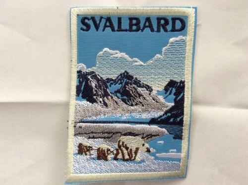 Patch Svalbard Islands Norway Norge Arctic Ocean North Pole Souvenir Polar Bear